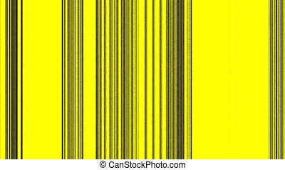 Vertical Black Lines on Yellow