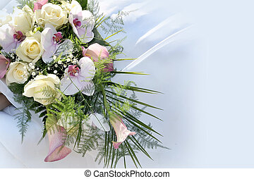 Background Wedding flowers - Background wedding flowers for...