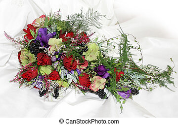 Bridal bouquet for the bride on her weddingday