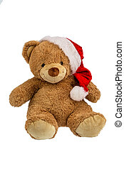 teddy bear with christmas gifts - a teddy bear with gifts...