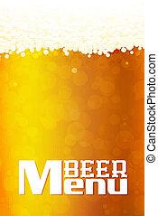 Beer Menu  background