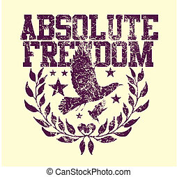 absolute freedom birds vector art