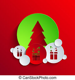 Vector christmas background. Eps 10