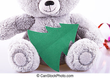 Green card and bear