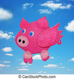Flying pig - kids toys