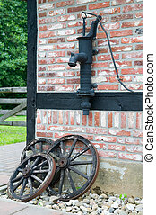 Old Farm Equipment - Picture of old farm equipment, against...