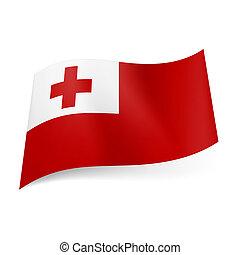 State flag of Tonga.