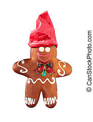 Ginger bread with red cap
