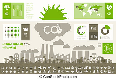 Ecology Infographic Template. - Opportunity to Highlight any...