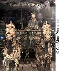 Qin dynasty Terracotta Army, Xian Sian, China