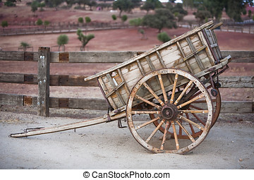 Carriage of wood, Spain