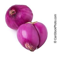 red onion on background - Onion red onion on the background