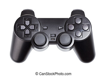 Gamepad - game controller isolated on a white background