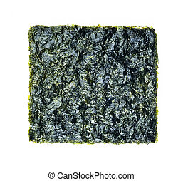seaweed, fried seaweed on the background