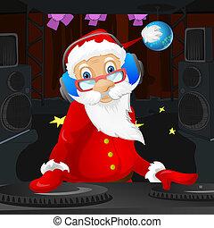 Santa Claus - Cartoon Character Santa Claus Vector EPS 10