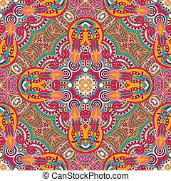 original retro paisley seamless pattern