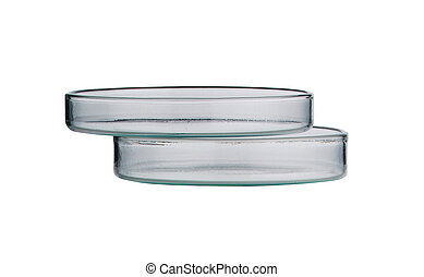 Lab. petri dish. Laboratory glassware on a background - Lab....