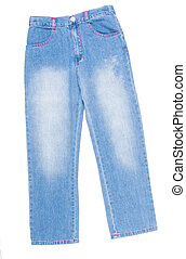 Jeans childrens jeans on a background - Jeans childrens...