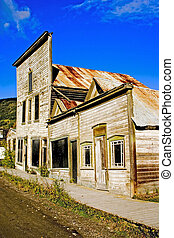 Old Gold Rush Buildings