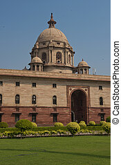 The Secretariat in New Delhi - The North Block of the...