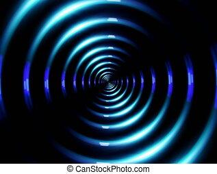 4K ring lens flare slow