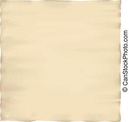 Old parchment paper texture