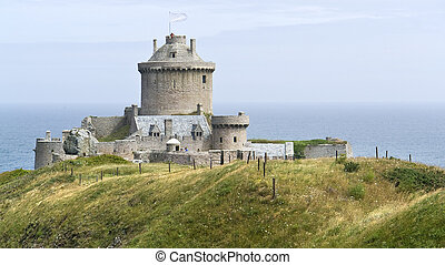 Fort-la-Latte at Cap Frehel in Brittany, France