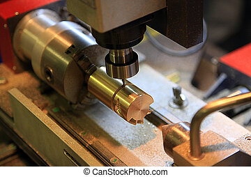 Table milling machine - Milling machine handles the detail...