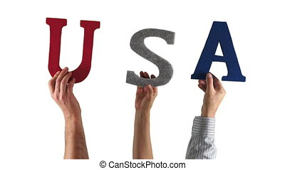Letter Hands USA