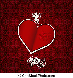 valentines day card happy holiday