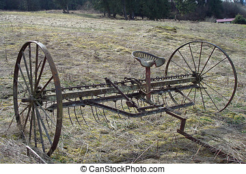Hay Rake - Antique Hay Rake...