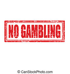 No Gambling-stamp