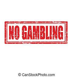 No Gambling-stamp