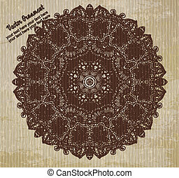 Ethnic vintage ornament background