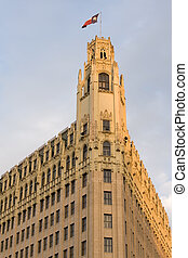 San Antonio landmark - Gothic revival skyscraper in...