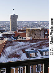 Toompea castle tower - Tall Hermann, on the hill of Toompea...