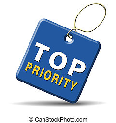 top priority important very high urgency info lost...