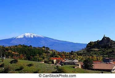 vue, Etna