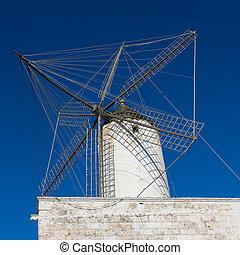 Ciutadella Es Moli windmill in Ciudadela Menorca -...