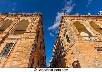 Ciutadella Menorca Placa des Born downtown Ciudadela -...