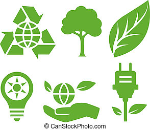 Vector Ecological Icons