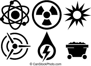 vector energy icons