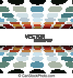 Abstract circle halftone colorful texture vector background