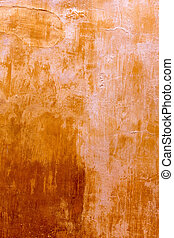 Menorca Ciutadellagolden grunge ocher facade texture at...