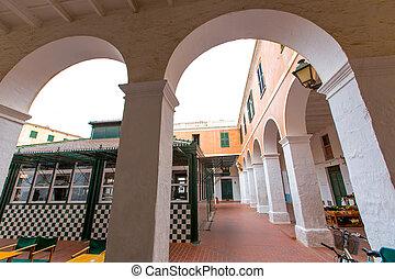 menorca ciutadella market in balearic islands - Menorca...
