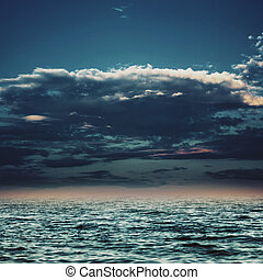 Under the blue skies, abstract marine backgrounds for your design