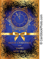 Merry Christmas & Happy New Year - Vector Merry Christmas &...
