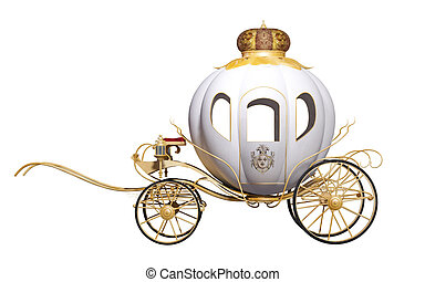 fairy tale royal carriage