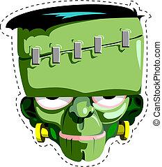 Frankenstein, Hallowen, máscara