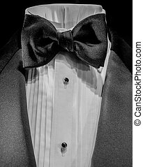 Close Up Bow Tie & Shirt